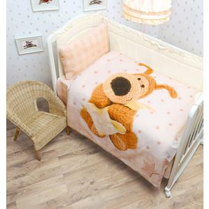 цена на Комплект детского постельного белья Mona Liza BOOFIE Малыш ,панно,бязь,хлопок 100% Бежевый 521810