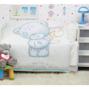 цена на Комплект детского постельного белья Mona Liza TEDDY BABY с лошадкой ,панно,бязь,хлопок 100% Бежевый 521101