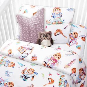цена на Комплект детского постельного белья Mona Liza СОВЯТА бязь,хлопок 100% 521026