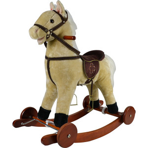 Качалка лошадка Pituso Светло-бежевый 74*30*64см GS2022W