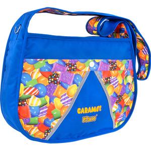 Сумка для мамы на коляску Pituso CARAMEL NEW BAG цвет васильковый/принт карамелька 201611