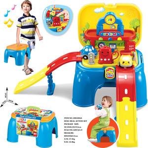 игровые наборы s s игровой набор доктор в чемодане Игровой набор Xiong Cheng АВТОЗАПРАВКА в чемодане-стульчике 60*53*37 см 008-806A