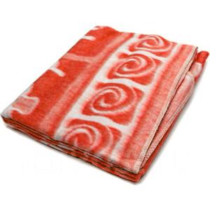 Одеяло детское байковое Ермолино х/б 118*100 Морковь 57-6ЕТ Ж
