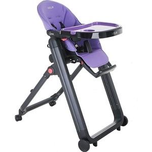 Стульчик для кормления Ivolia LEON Purple/ Фиолетовый ECO- кожа P2