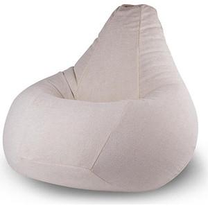 Кресло-мешок POOFF Груша велюр бежевый XL