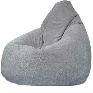 Кресло-мешок POOFF Груша велюр серый XL