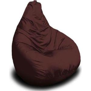 Кресло-мешок POOFF Груша оксфорд коричневый XL