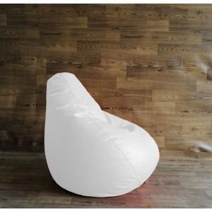 Кресло-мешок POOFF Эко кожа белый XXL