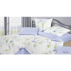Комплект постельного белья Ecotex Семейный, сатин, Гармоника Фиалки (4660054343551)