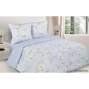 Комплект постельного белья Ecotex Евро с резинкой, поплин, Поэтика Флореаль (4650074958583)