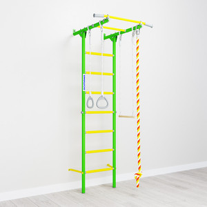 Детский спортивный комплекс Romana S1 (01.21.7.06.490.05.00-13) зелёное яблоко цена