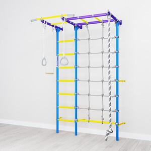 Детский спортивный комплекс Romana S7 (01.31.7.06.410.05.00-68) сиренево/голубой цена