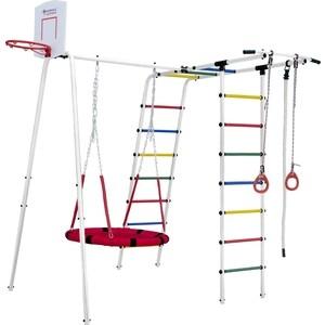 Детский спортивный комплекс Формула здоровья Street 1 белый радуга цена