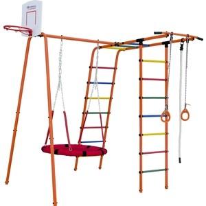 Детский спортивный комплекс Формула здоровья Street 1 оранжевый радуга
