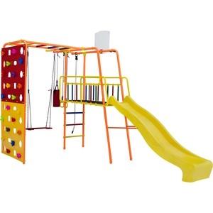 Детский спортивный комплекс Формула здоровья Street 3 Smile оранжевый радуга