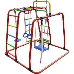 Детский спортивный комплекс Формула здоровья Игрунок Т Плюс красный/радуга цена