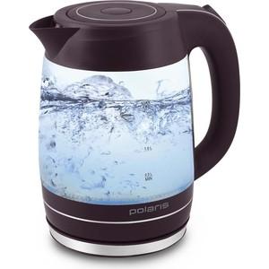 Чайник электрический Polaris PWK 1877CGL бордо фото