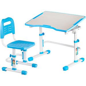 Комплект парта + стул трансформеры FunDesk Vivo II blue