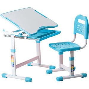 Комплект парта + стул трансформеры FunDesk Sole blue