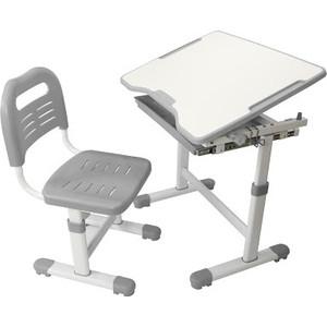 Комплект парта + стул трансформеры FunDesk Sole grey