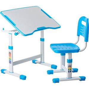 Комплект парта + стул трансформеры FunDesk Sole II blue