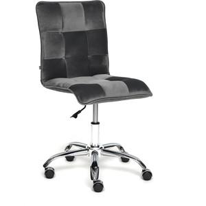 Кресло TetChair Zero велюр серый t18