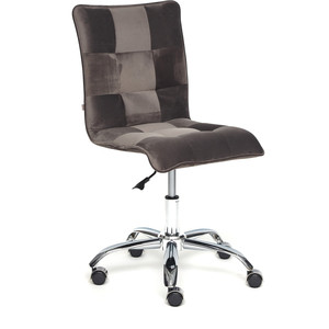 Кресло TetChair Zero велюр коричневый t17