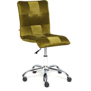 Кресло TetChair Zero велюр зеленый t09