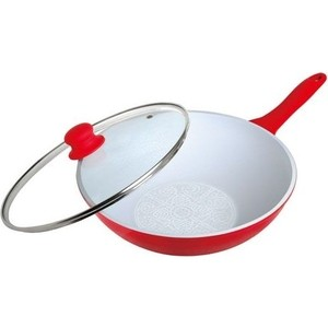 Сковорода-вок d 28 см Frank Moller (FM-815) сковорода d 24 см kukmara кофейный мрамор смки240а