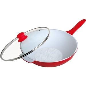Сковорода-вок d 30 см Frank Moller (FM-819) сковорода d 24 см kukmara кофейный мрамор смки240а