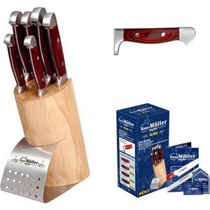 Набор ножей 7 предметов Haus Moller (HM-2021) цена в Москве и Питере