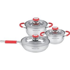Набор посуды 6 предметов MercuryHaus (MC-7025)