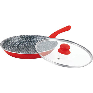 Сковорода MercuryHaus d 26см (MC-6243 красная) сковорода mercuryhaus d 26см mc 6286
