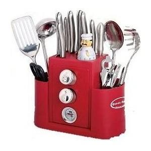 Набор кухонных принадлежностей 20 предметов Queen Ruby (QR-8270)
