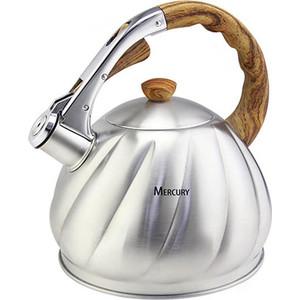 Чайник со свистком 3.5 л MercuryHaus (MC-6590) френч пресс mercuryhaus mc 6523 0 8 л золотой