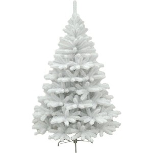 Елка искусственная CRYSTAL TREES Соренто жемчужная 150 см.