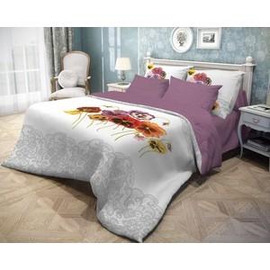 Комплект постельного белья Волшебная ночь евро, ранфорс, Fialki (743112)