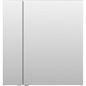 Зеркальный шкаф Aquanet Алвита 80 серый антрацит (240109) зеркальный шкаф vigo kolombo 80 с подсветкой серый