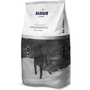 Сухой корм SIRIUS Platinum Hypoallergenic индейка с овощами для взрослых собак 12кг
