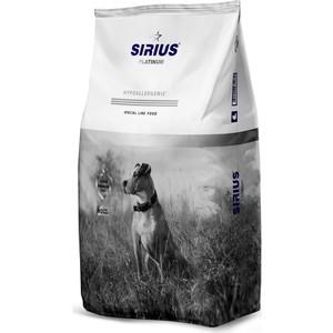 Сухой корм SIRIUS Platinum Hypoallergenic утка с овощами для взрослых собак 3кг