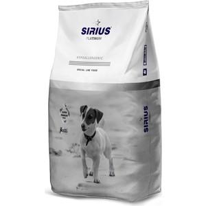 Сухой корм SIRIUS Platinum Hypoallergenic индейка с овощами для взрослых собак малых пород 3кг