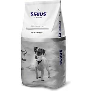 Сухой корм SIRIUS Platinum Hypoallergenic индейка с овощами для взрослых собак малых пород 8кг фото