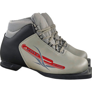 Ботинки лыжные Marax 75мм М350 ACTIVE серебро р.38