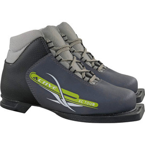 Ботинки лыжные Marax 75мм М350 ACTIVE серый р.34