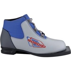 Ботинки лыжные Spine NN75 NORDIK серебро р. 34