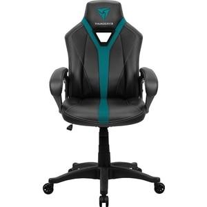 Кресло компьютерное игровое ThunderX3 YC1 black-cyan