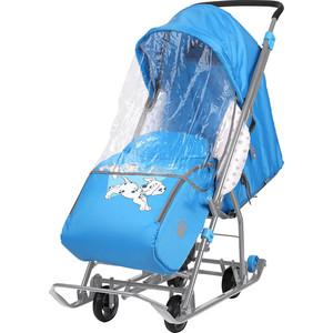 Санки коляски Nika Disney Baby 1 (С Далматинцами голубой)