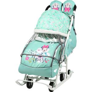 цены Санки коляски Nika Disney Baby 2 (Минни Маус Мятный)