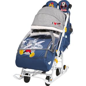 Санки коляски Nika Disney Baby 2 (Микки Маус Темно-Синний)