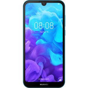 Смартфон Huawei Y5 (2019) 32Gb Blue смартфон